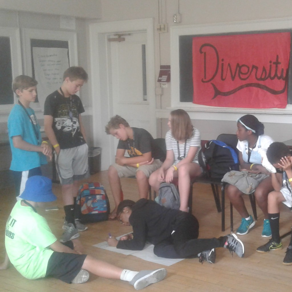 The Lost Delegates come up with their own definition of Diversity.