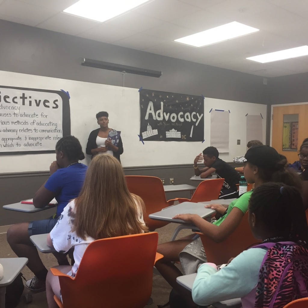 The Athleaders learn about Advocacy - what it is, why it's important in our daily lives, and what it means as a part of our leadership toolbox.